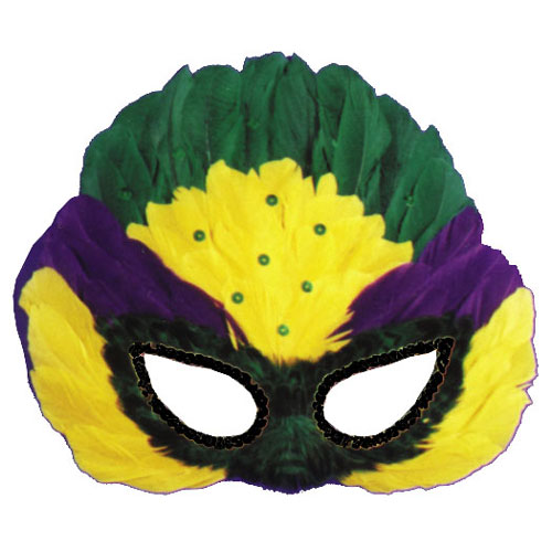 Mardi Gras Costumes - Costumes For All Occasions TI54 Mask Mardi Gras Sequin Feather