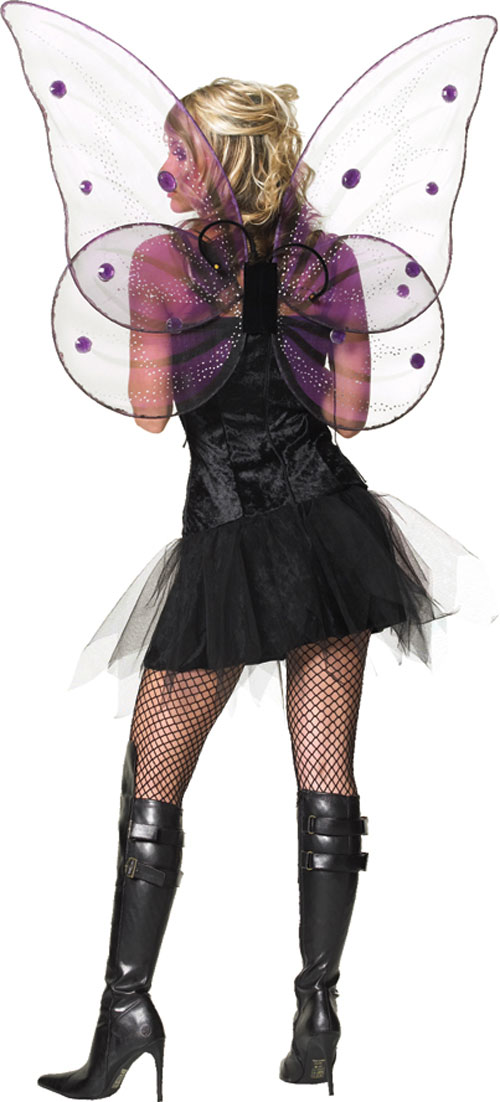 Butterfly Costume - Costumes For All Occasions UA2086 Wings Deluxe Giant Butterfly
