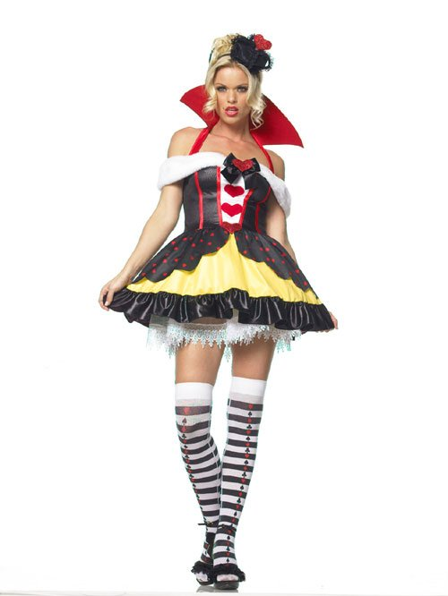 Costumes For All Occasions UA83336LG Queen Of Hearts 3Pc Large