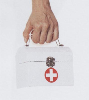 Nurse Costume - Costumes For All Occasions UAA1508WT Purse Nurse White