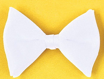Bow Ties - Costumes For All Occasions BB40WT Bow Tie Formal White