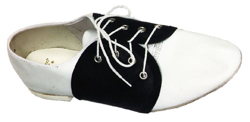 Costumes For All Occasions BB423 Spats Saddle Shoe