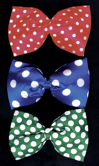 Bow Ties - Costumes For All Occasions BB43GR Bow Tie Jumbo Polkadot Green