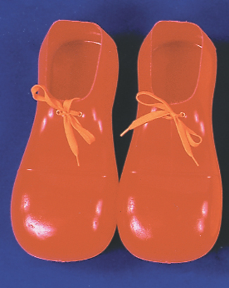 Costumes For All Occasions 51002 Clown Shoes Red 12In