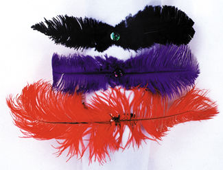 Costumes For All Occasions BC25PR Dance Hall Headpiece Purple