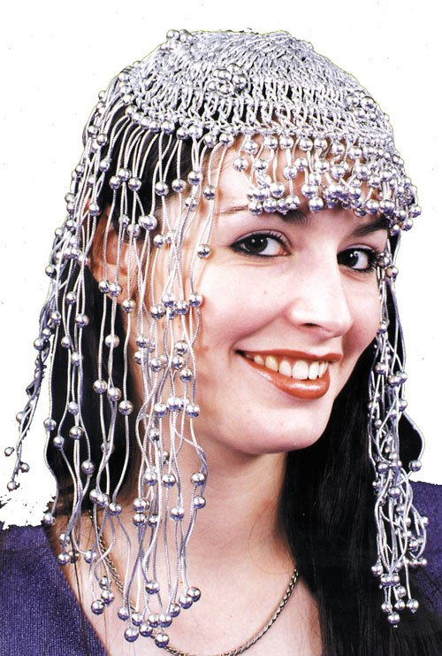 Egyptian Costumes - Costumes For All Occasions BC47SV Headpiece Egyptian Silver Sv