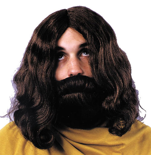 Biblical Costumes - Costumes For All Occasions CA113BN Biblical Beard And Wig Brown