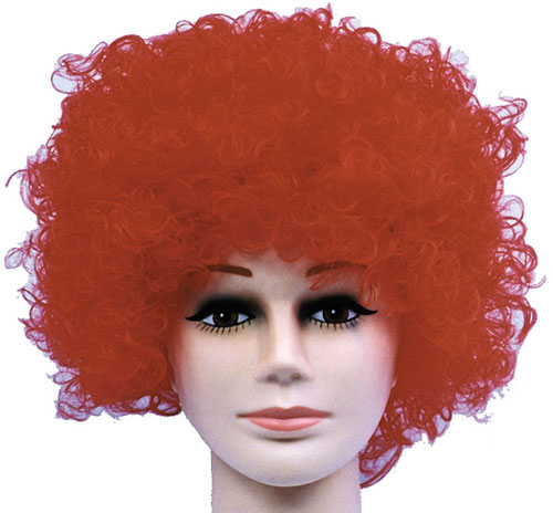 Costumes For All Occasions CA118RD Wig Curly Clown Red Budget