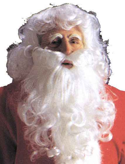 Costumes For All Occasions CA59 Santa Wig and Beard Economy