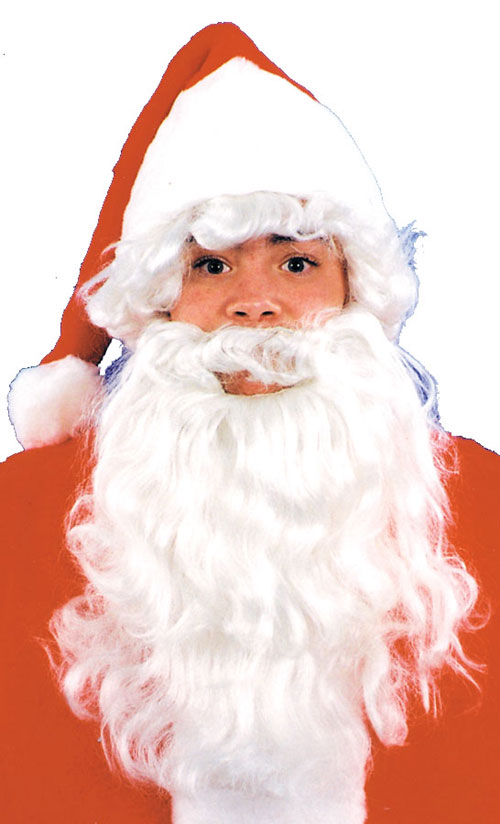Costumes For All Occasions CA60 Santa Wig and Beard Child