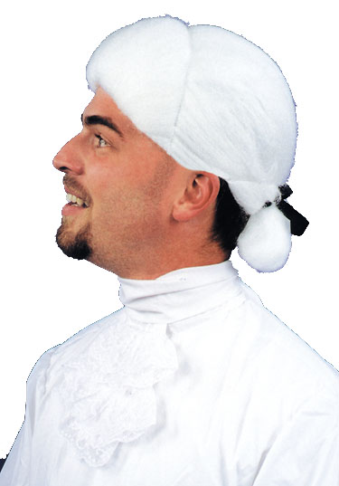 Colonial Costumes - Costumes For All Occasions CA76 Wig Colonial Man White