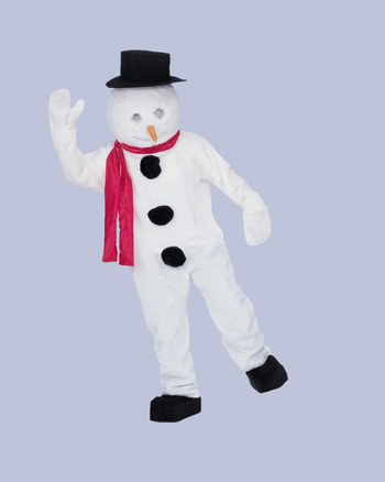 Costumes For All Occasions CM69043 Snowman Mascot Complete