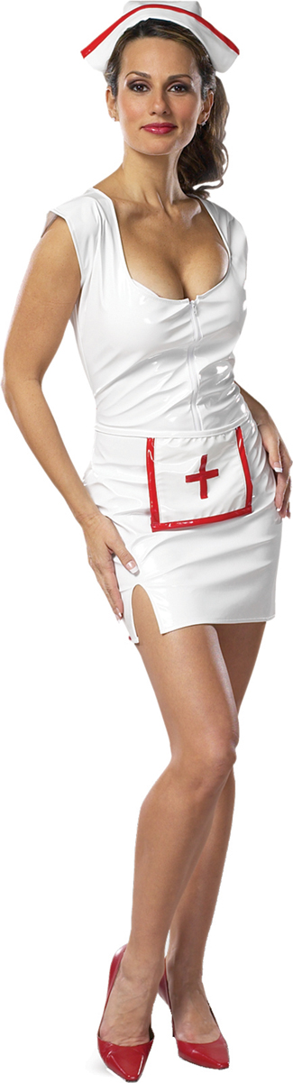 Nurse Costume - Costumes For All Occasions CS070LG Nurse Feelbetter Size 16 To 18
