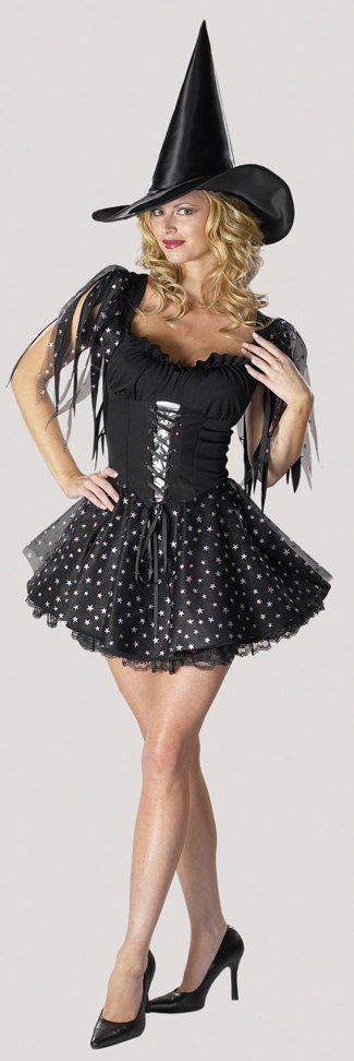 Costumes For All Occasions CS075 Petticoat Lace Black
