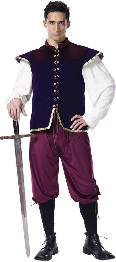 Renaissance Costume - Costumes For All Occasions CS221LG Renaissance Nobleman Large
