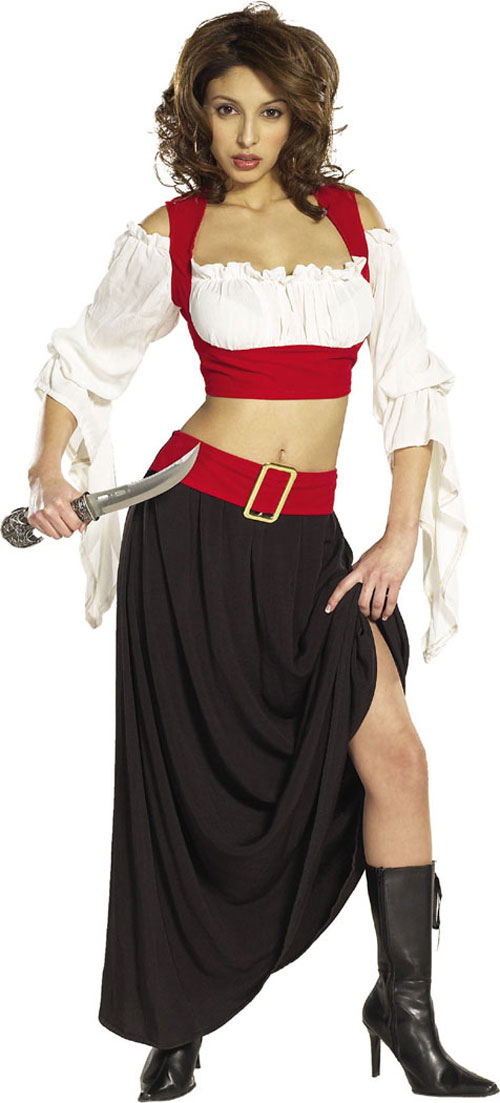 Renaissance Costume - Costumes For All Occasions CS382LG Pirate Renaissance Large