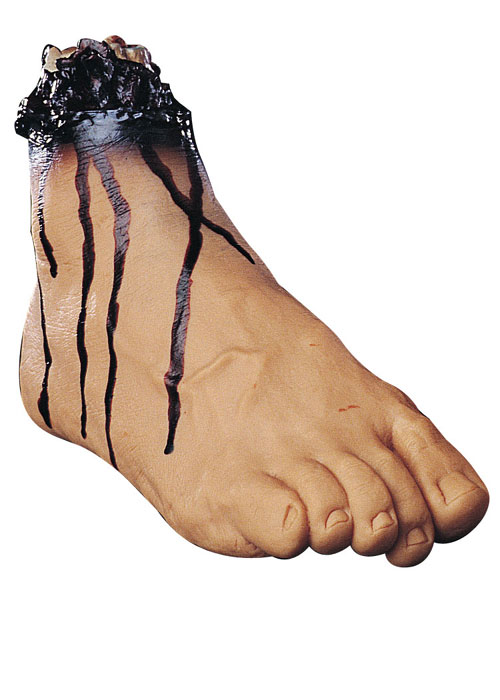 Costumes For All Occasions 85504 Right Foot Vinyl