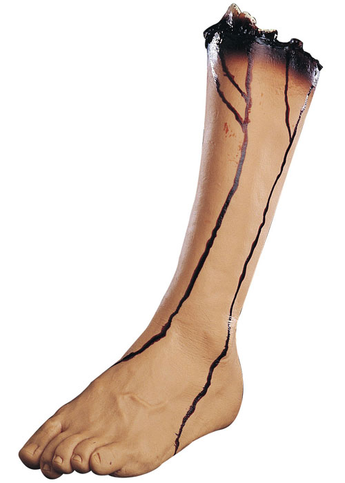 Costumes For All Occasions 85507 Left Leg Vinyl