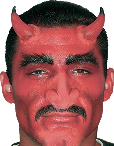 Devil Costume - Costumes For All Occasions CSEZ113 Ez Fx Devil Horns Kit Sm