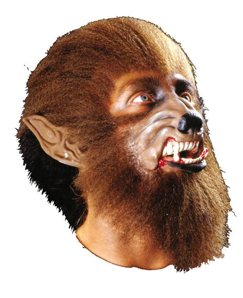 Werewolf Costumes - Costumes For All Occasions CSFX009 Werewolf Make Up Kit Deluxe