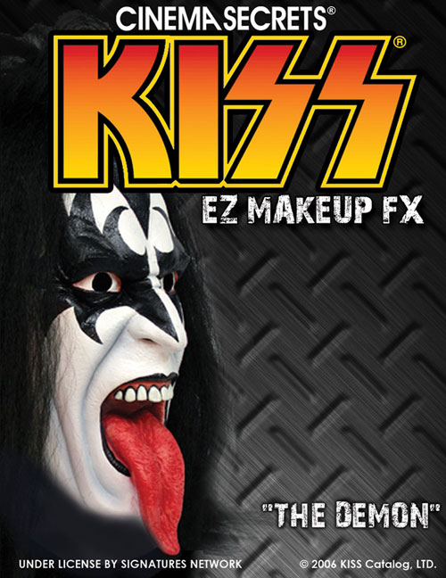 Kiss Costumes - Costumes For All Occasions CSLM205 Kiss Makeup Kit Demon