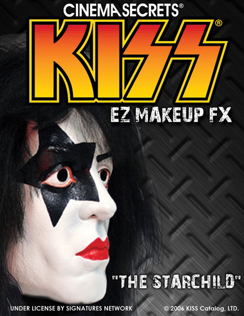 Kiss Costumes - Costumes For All Occasions CSLM206 Kiss Makeup Kit Starchild