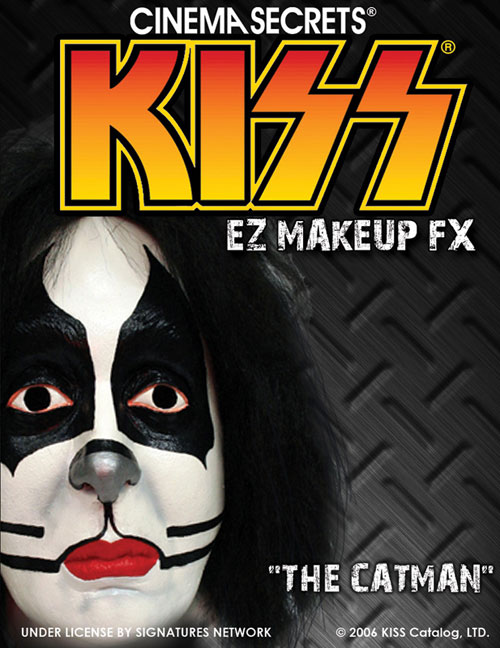 Kiss Costumes - Costumes For All Occasions CSLM207 Kiss Makeup Kit Catman