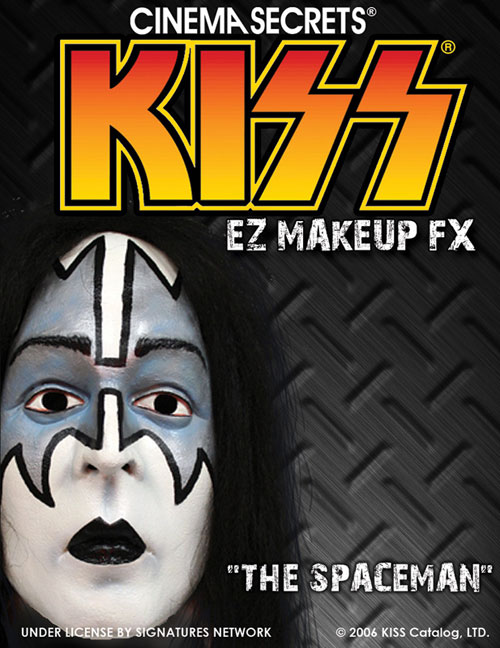 Kiss Costumes - Costumes For All Occasions CSLM208 Kiss Makeup Kit Spaceman