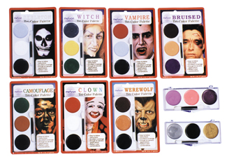 Costumes For All Occasions DD154 Tri Color Palette Ghoul Witch