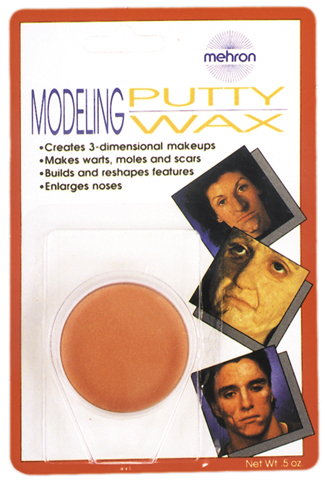 Costumes For All Occasions DD235 Modeling Putty Wax Carded MRRS3191