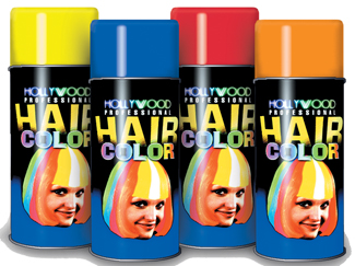 Costumes For All Occasions DE60BU Hair Spray Fluor Blue OrMedium