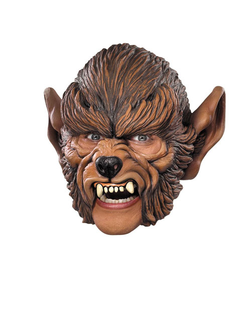 Werewolf Costume - Costumes For All Occasions DG10392 Werewolf Chin Strap Mask
