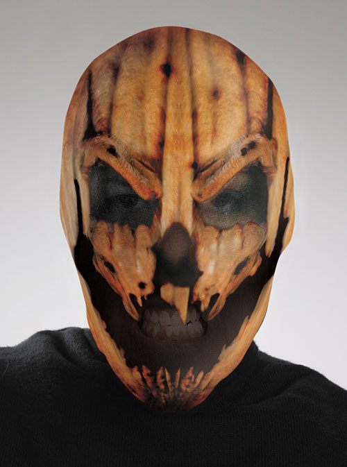 Scary Costumes - Costumes For All Occasions DG10534 Pumpkin Scary Mask