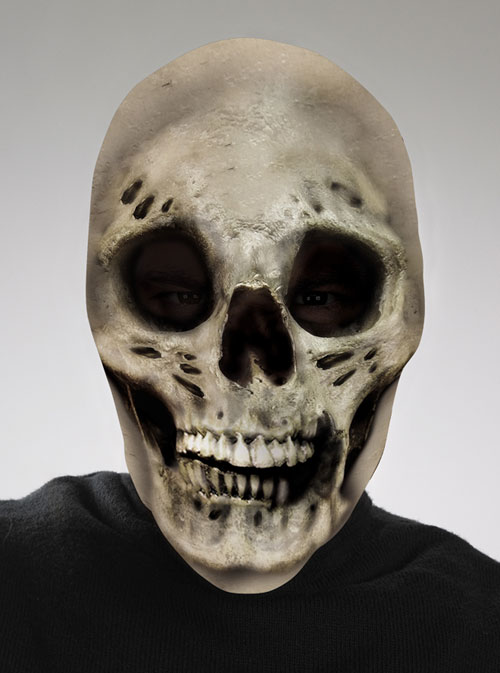 Scary Costumes - Costumes For All Occasions DG10535 Skull Scary Mask