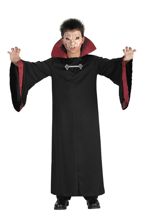 Vampire Costumes - Costumes For All Occasions DG1219K Evil Vampire Child Size 7 8