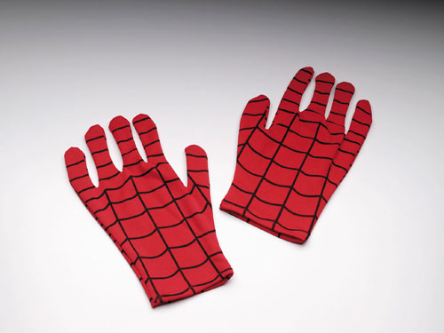 Spiderman Gloves - Costumes For All Occasions DG18029 Spiderman Gloves Adult Comic V
