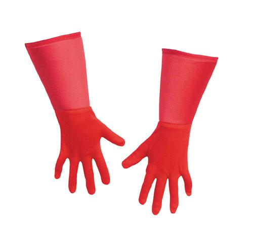 Captain America Costume - Costumes For All Occasions DG18344 Captain America Gloves Child
