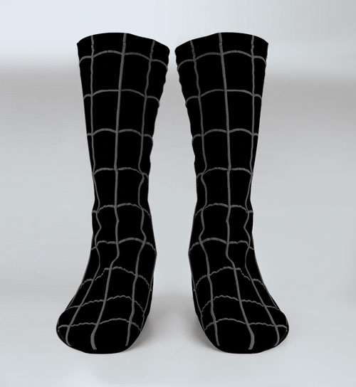 Spiderman Costume - Costumes For All Occasions DG18675 Spiderman Black Boot Cvr Child
