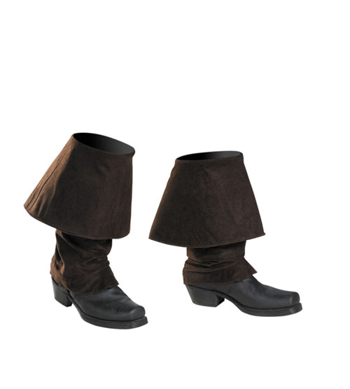 Jack Sparrow Costume - Costumes For All Occasions DG18726 Jack Sparrow Boot Covers Child