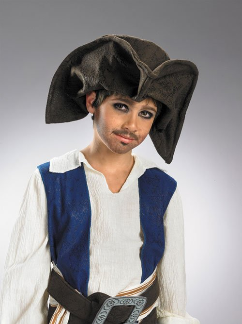 Jack Sparrow Costume - Costumes For All Occasions DG18780 Jack Sparrow Pirate Hat Child