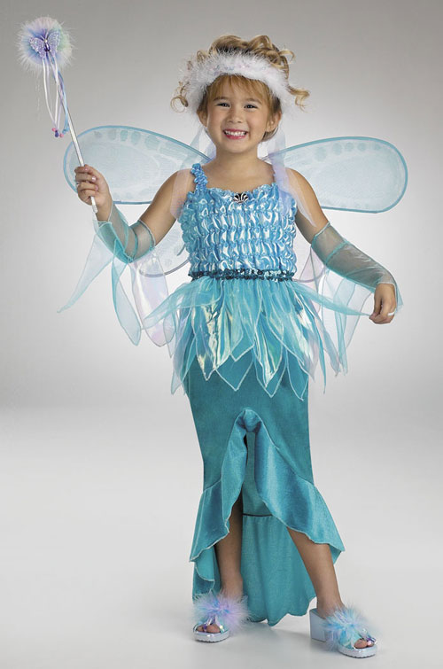 Mermaid Costumes - Costumes For All Occasions DG2350K Fairy Precious Mermaid 7 8 Chl