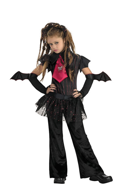 Bat Costume - Costumes For All Occasions DG2800K Bat Chick Size 7 To 8