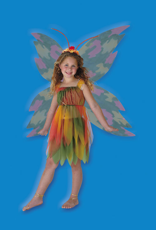 Fairy Costume - Costumes For All Occasions DG286L Amber Woodland Fairy 4 6