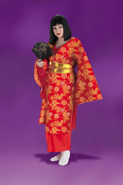 Plus Size Costume - Costumes For All Occasions DG3130 Geisha Plus Size