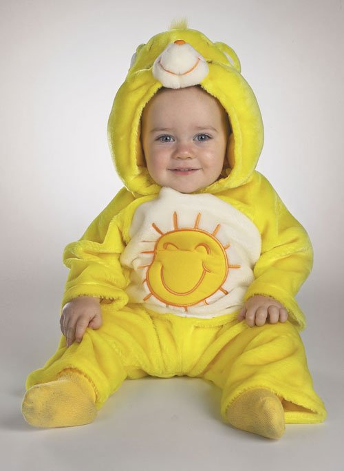 Care Bear Costumes - Costumes For All Occasions DG5002W Care Bear Funshine 3 12 Mnths
