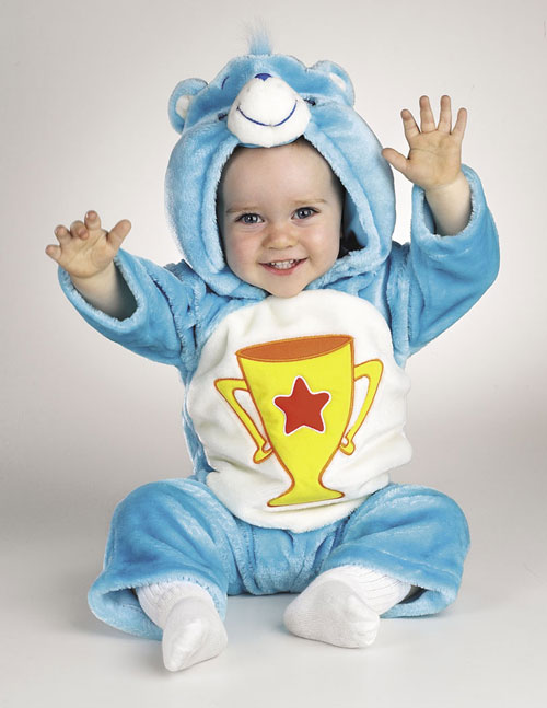 Care Bear Costumes - Costumes For All Occasions DG5003W Care Bear Champ 3-12 Months