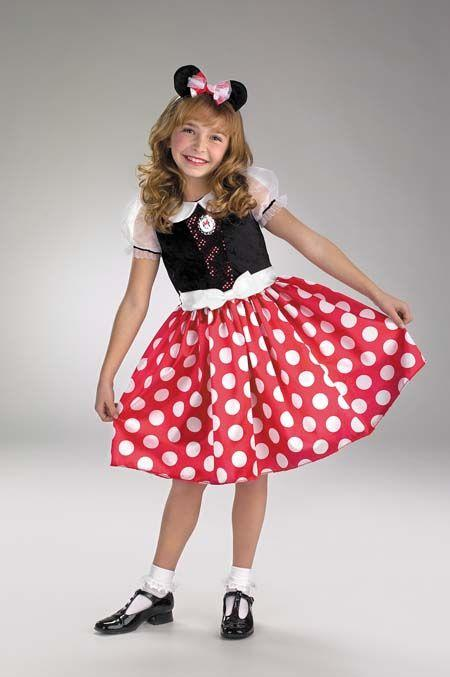 Minnie Mouse Costume - Costumes For All Occasions DG5036M Minnie Mouse 3T To 4T