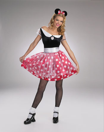Minnie Mouse Costume - Costumes For All Occasions DG5094 Minnie Mouse Adult