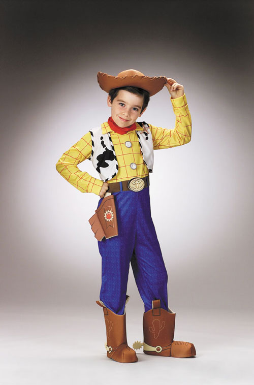 Costumes For All Occasions DG5234K Toy Story Woody Deluxe Ch 7 To 8 MRRS4353