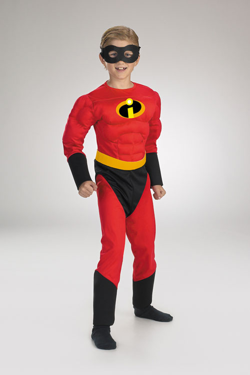 Costumes For All Occasions DG5385K Mr Incredible Mscl 7 To 8 Child